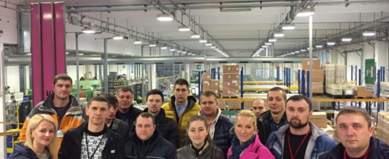 Візит групи ЕПІЦЕНТР до Італії на заводи Джакоміні